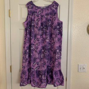 Vintage Anthony Richards Sleeveless Shift Dress 1X